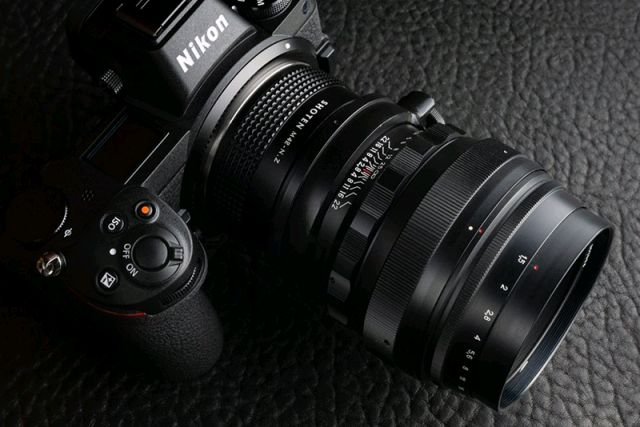 礹/&�f�x�~[�nZ�_nikon z6   shoten m42-nz转接环   helios 85mm f/1.5镜头